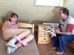 Senior seduces a teen girl