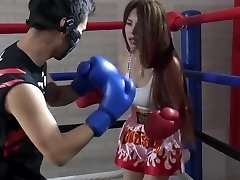 Japanese Brutal Mixed Boxing Ryona