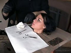 Real whore London River gets her cunny punished by one kinky boy
