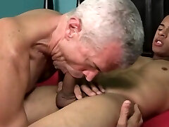 Exotic gay video with Hunk, Daddy scenes