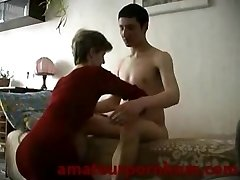 Mom and Son-in-law Home-Taboo Tape
