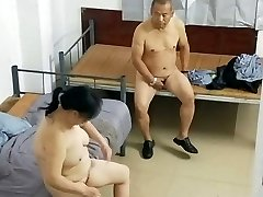 Aged Asian Dude With Hooker