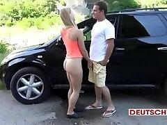 Ash-blonde GERMAN TEEN ANAL CREAMPIE