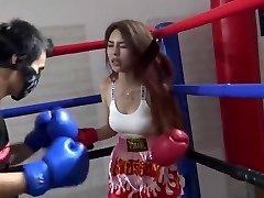 Asian Brutal Mixed Boxing Ryona