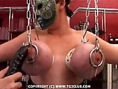 Hard core BDSM.puncture of the chest.punishment