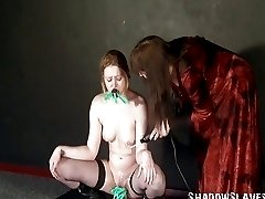 Lesbian Sam West bondage and fetish