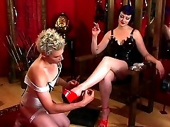 Sissy boy gets pampered