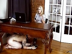 Office Cunt and Ass Licking