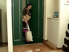 Horny Japanese woman in Amazing Lesbian, Mature JAV video