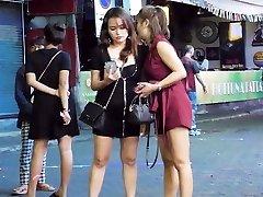 Pattaya Walking Street Nightlife and t-girl,Thailand 2020