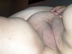 Plus-size long strokes & creampie