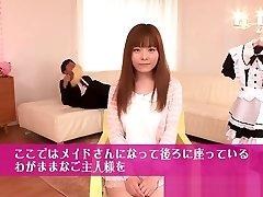 Busty Japanese stunner Anri Sonozaki cocksucking (www.dooporn.com)