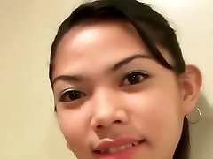 jaw-dropping and skinny filipina chick fate takes the white cock