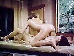 Oily retro female-girl massage