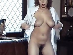 Rock   roll  vintage bouncy big boobs disrobe dance