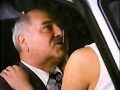 Old Man With Call Girl In Car
