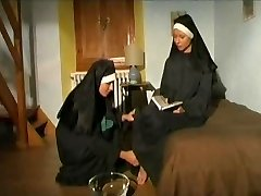 Couple of sizzling horny NUNS!
