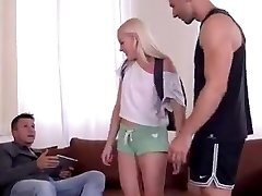Teens First Double Invasion Sex