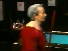 Fat Lesbian Grandmothers On A Pool Table Old-school