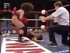 old-school women's wrestling