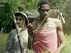 Tarzan rams his oversized love club deep into Jane�s moist slit