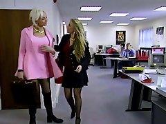 XXXJoX Lana Cox Secretary Forced By Chief