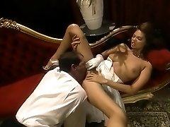 Small Breast Stunner Rails On A Big Throbbing Cock