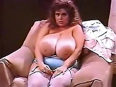 Incredible amateur Fat Jugs, Vintage sex scene