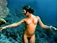 vintage gentle erotica (underwater striptease)