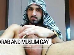 Arab gay indecent desert warrior. Iraqi soldier at day, faggot plower at night