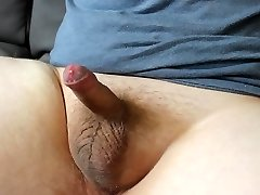 Young Gay boy jerks and cums hard!