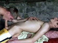 two nice cock young lads in the boat mansion