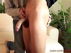 Nasty straight stud Honza Sykora gets hand-job from Hammerboys TV