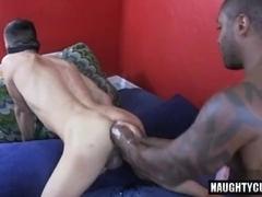 Super-hot jock fetish with cumshot