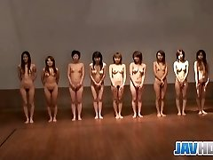 Stripped Japanese hotties