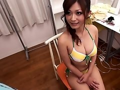 Incredible Japanese slut Haruki Sato in Hottest large tits, bikini JAV scene