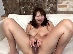 Busty model superlatively good handjob