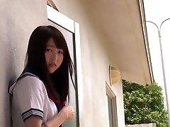 Hottest Japanese model Mayu Yukii in Most Good rug munch, college JAV scene