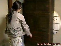 Japanese MILF has eager sex free jav