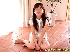 Japanese legal age teenager pussylicked in advance of facial