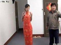 Chinese angel in bondage