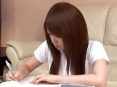 Hot Asian student can't live without playing with her pussy