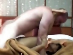 Indonesian Maid Having 1st Time Sex with White Rod