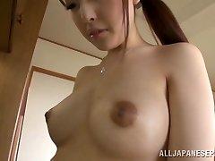 Krásná žena v domácnosti Iroha Sagara dostane kurva těžké