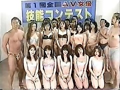 Japanese team fuck contest uncensored