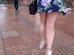 Sexy Legs Walk 006