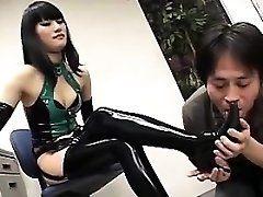 Asian Femdoms And A Stud In A Threesome
