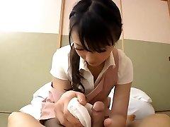 Japanese glamorous abode maid
