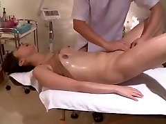Writhes In Voyeur Bald Massage