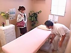 Cute babe acquires banged hard in voyeur Japanese sex movie scene